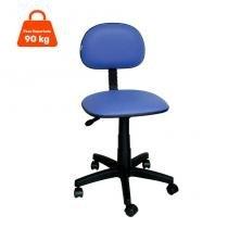 Cadeira de Escritório Secretária Giratória Korano Azul - Absolut