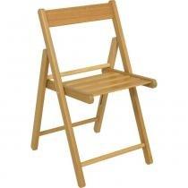 Cadeira de madeira dobrável envernizada - Aconchego - Tramontina - Tramontina