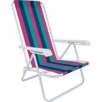 Cadeira de Praia 4 Posições 002004 Mor - Mor