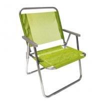 Cadeira de Praia XL 130 Alumínio - Botafogo