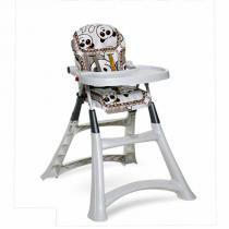 Cadeira de refeição alta Premium Panda Galzerano para bebês de até 15 kg -