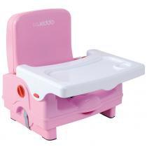 Cadeira de Refeição Portátil Sweet Rosa - Lenox Kiddo - Lenox Kiddo