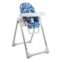 Cadeira de Refeição Prima Pappa 5 posições Passarinho Azul Burigotto - Burigotto