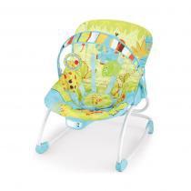 Cadeira Descanso Musical Rocker Azul - Mastela -