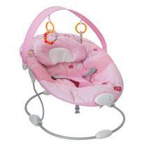 Cadeira Descanso Sonequinha Rosa 3 Sons Natureza 5 Melodias e Vibração Relaxante - Burigotto