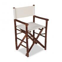 Cadeira Diretor Bamboo Marrom Acasa -
