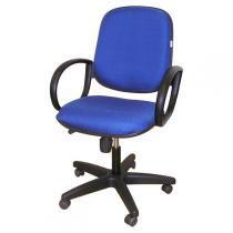Cadeira Diretor com Relax e Rodízios Azul - Multivisão - Multivisão