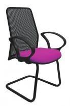 Cadeira Diretor Tela Fixa Roxa - Mix Moveis