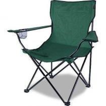 Cadeira Dobrável Camping Alvorada + Bolsa Nautika Pesca -
