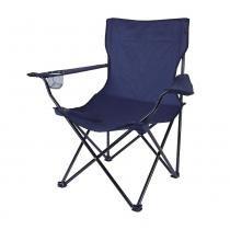 Cadeira Dobrável com Apoio de Braço Alvorada 290380-AZ Azul - Nautika - Nautika
