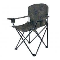Cadeira Dobrável com Apoio de Braço Pandera 290500-CM Camuflado - Nautika - Nautika
