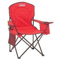Cadeira Dobrável com Cooler 110120002189 Vermelho - Coleman - Coleman