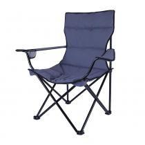 Cadeira Dobrável Estofada Boni 290430-AZ Azul - Nautika - Nautika