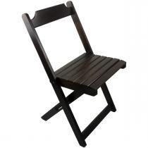 Cadeira Dobrável Madeira Maciça Imbuia - My Shop - MY SHOP BRASIL