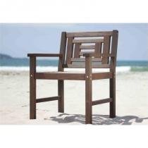 Cadeira Echoes Nogueira - Mão  Formão - Mão  Formão