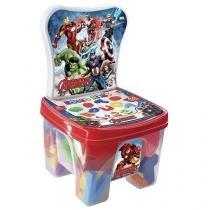 Cadeira Educa Kids Avenges 44 Peças - Lider Brinquedos