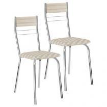 Cadeira em Aço 2 Peças Móveis Carraro - Casual 026