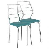 Cadeira em Aço 2 Peças Móveis Carraro - Casual 1716