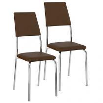 Cadeira em Aço 2 Peças Móveis Carraro - Clássica 1719