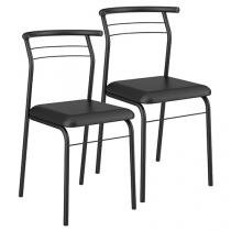 Cadeira em Aço 2 Peças Móveis Carraro - Contemporânea 1708