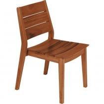 Cadeira em madeira muiracatiara sem braços - Toscana - Tramontina - Tramontina
