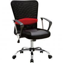 Cadeira Executiva Pelegrin PEL-502 Giratória com Regulagem de Altura a Gás Preto - Pelegrin