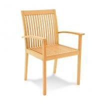 Cadeira Fitt com Braço Natural - Tramontina