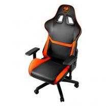 Cadeira gamer cougar armor preto laranja cgr-nxnb-gc1 -