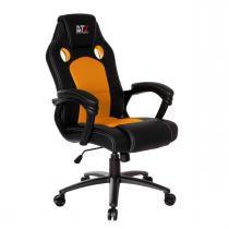 Cadeira Gamer Giratória Gt Laranja E Preto Dt3sports -