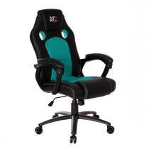 Cadeira Gamer Giratória Gt Verde E Preta Dt3sports -