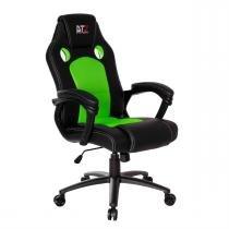 Cadeira Gamer Giratória Gt Verde Olivia E Preto Dt3sports -
