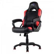 Cadeira gamer profissional ac80c en55048 preta/vermelha aerocool -
