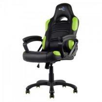 Cadeira gamer profissional ac80c en55079 preta/verde aerocool -