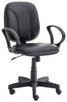 Cadeira giratória para escritório Ref. 821 modelo diretor costurado - Unimóvel - Unimóvel
