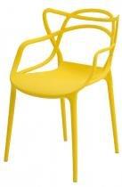 Cadeira INFANTIL Allegra Polipropileno Amarela - 38190 - Sun house