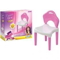 Cadeira Infantil Casinha Flor - Xalingo
