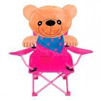 Cadeira Infantil Ursinhos Dobrável Mor 2090 - Mor