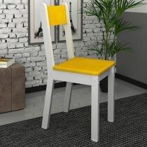 Cadeira MDF para Escritório Madesa - Tutti Colors Amarelo