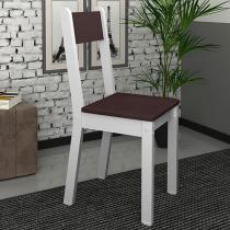 Cadeira MDF para Escritório Madesa - Tutti Colors Marrom