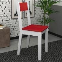 Cadeira MDF para Escritório Madesa - Tutti Colors Vermelho