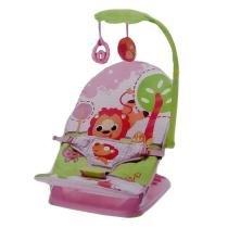 Cadeira Musical e Vibratória Portátil Pink Mastela -