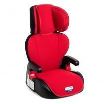 cadeira para auto Burigotto Vermelho Protege Reclinável Grupos II e III -