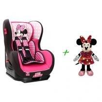 Cadeira para Auto Disney Minnie Mouse Cosmo SP - para Crianças até 25kg + Pelúcia Minnie