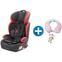 Cadeira para Auto Fisher-Price Safemax Fix BB563 - p/ Crianças até 36kg + Protetor de Pescoço Monkey
