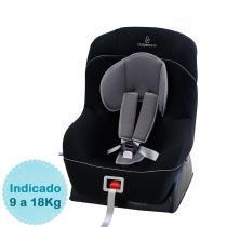 Cadeira para Auto Galzerano Maximus - Preto Cinza - Galzerano