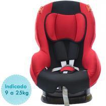 Cadeira para Auto Lumina Baby G1G2 - Preto/Vermelho - Lumina Baby
