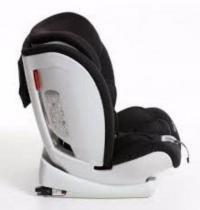 Cadeira para Automovel 09 a 36 KG Techno FIX Preto Galzerano D803PT -