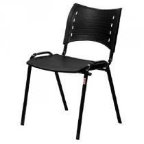 Cadeira para Escritório Fixa Londres Preto 1232 - Fabone - Fabone