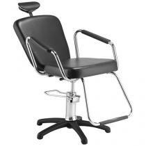 Cadeira para Salão de Beleza Hidráulica Reclinável - Dompel Nix