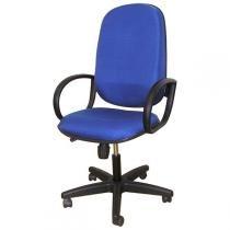 Cadeira Presidente com Relax e Rodízios Azul - Multivisão - Multivisão
